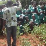 School children visit our Community Farm project